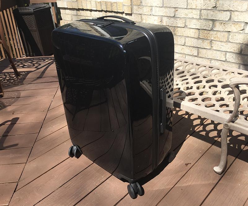 Raden A28 Check Suitcase